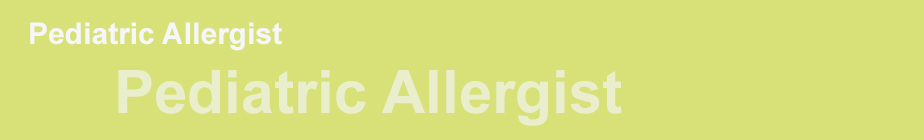 Pediactric Allergist 2