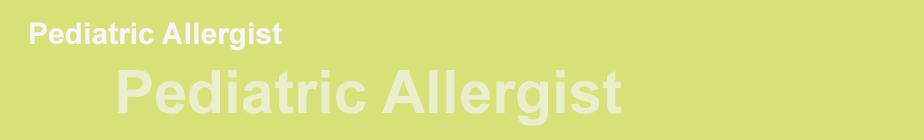 Pediactric Allergist 2